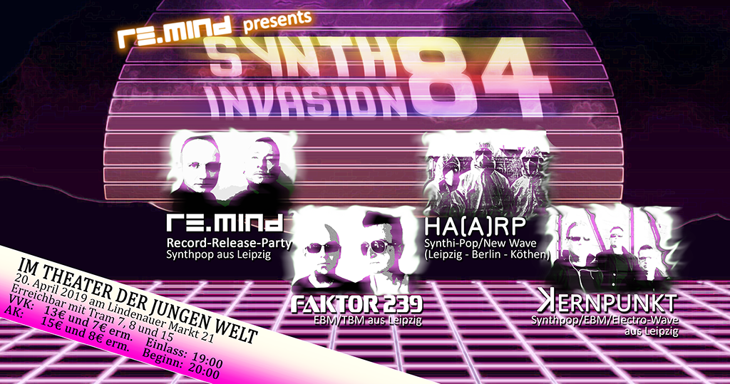 Synth-Invasion 84 – 20.04.2019 in Leipzig