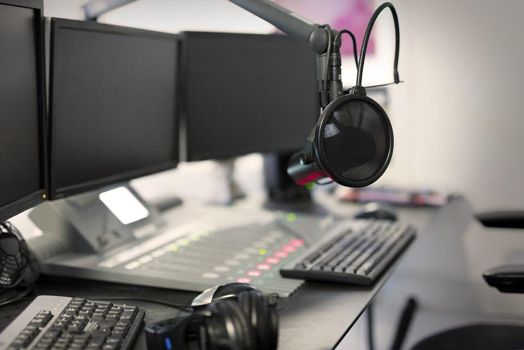 Eröffnung gläsernes Radio-Studio in Blaubeuren