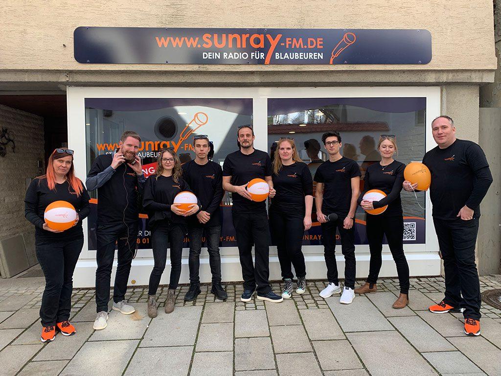 Euer Radio für Blaubeuren – powered by Sunray-FM – Eröffnung