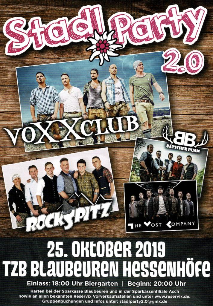 Party – Volxrock – Schlager: die Stadl Party 2.0