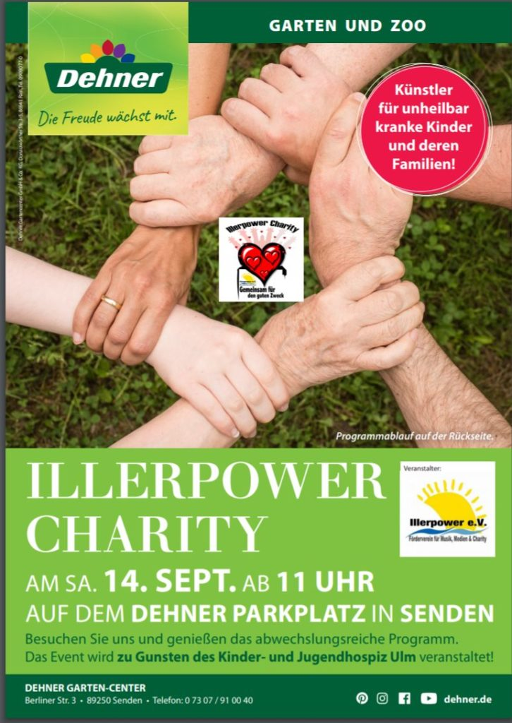 Illerpower Charity – Gemeinsam für den guten Zweck
