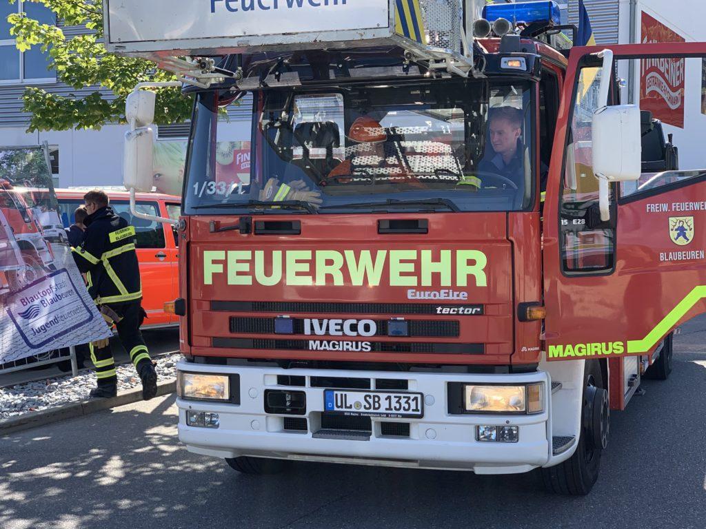 Ein Tag Feuerwehrmann sein….