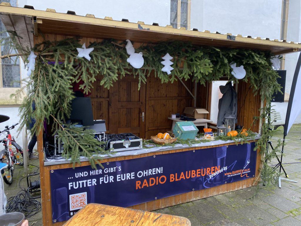 Die 1. Blaubeurer Adventsfreude zusammen mit Sunray-FM