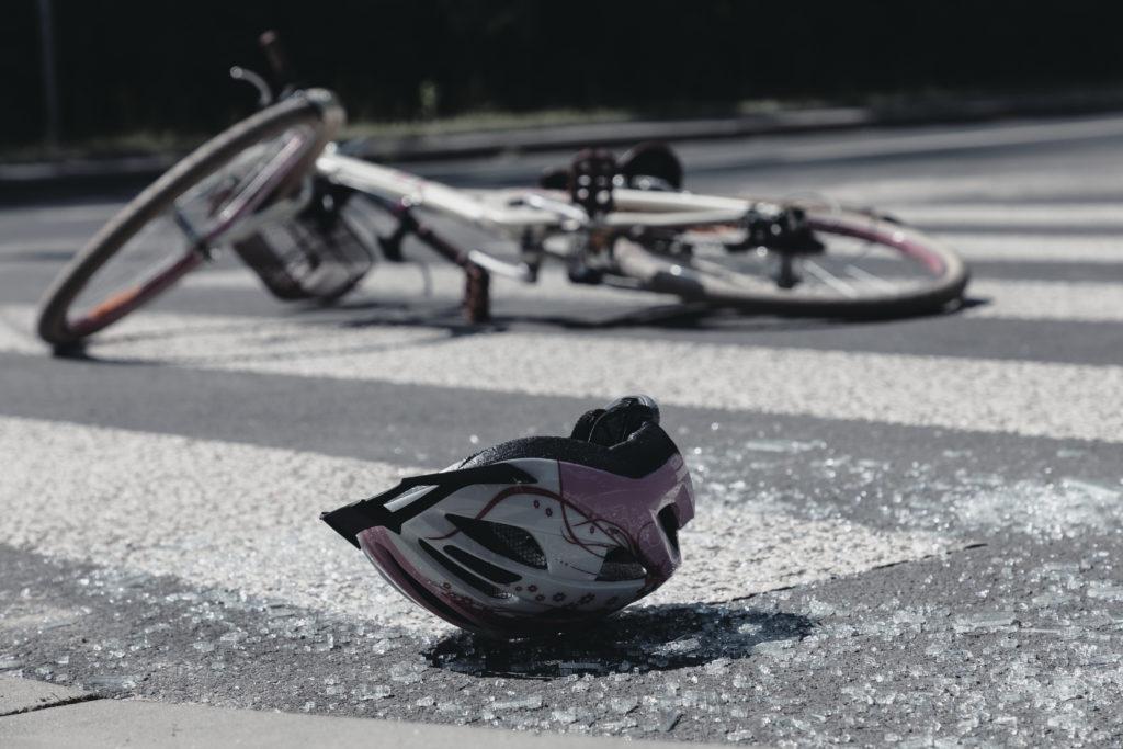 Pedelec Fahrer gestürzt