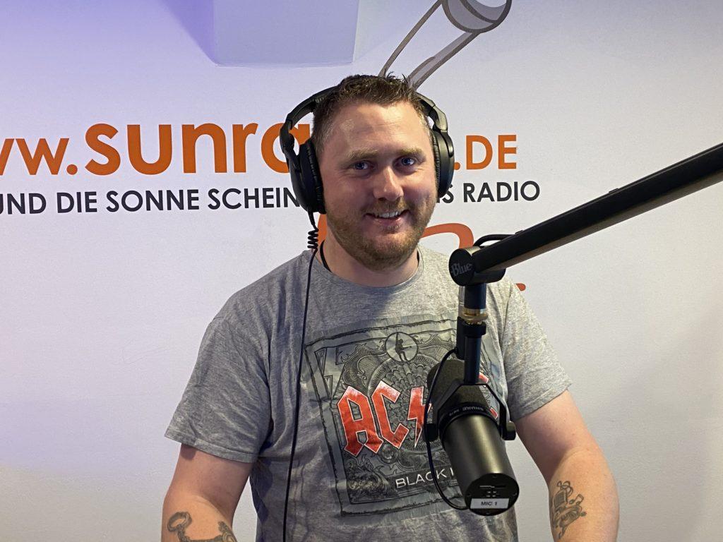 Karsten geht bei Sunray-FM onAir