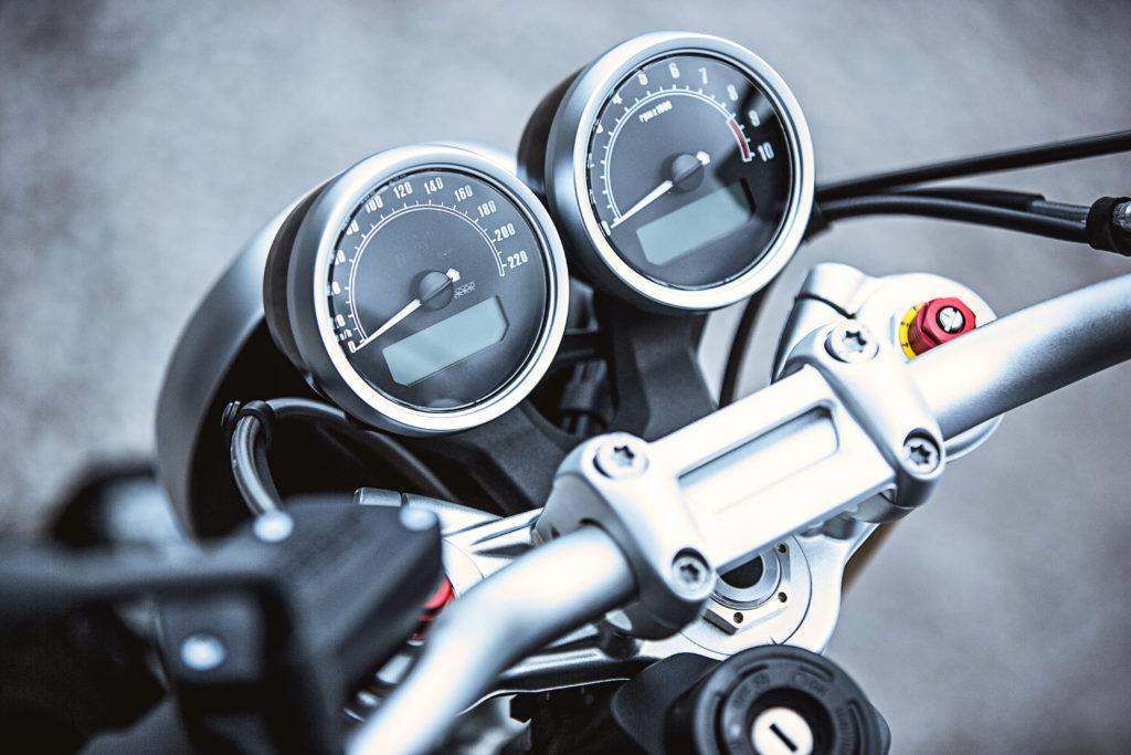 Motorradkontrolle in Ehingen