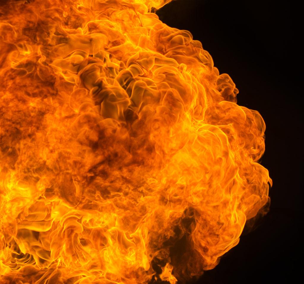 Garage in Ulm brennt vollständig aus