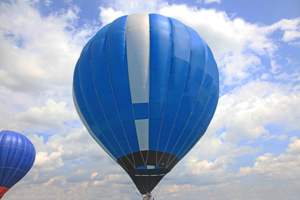 Neu-Ulmer holt Rekord mit Heißluftballon