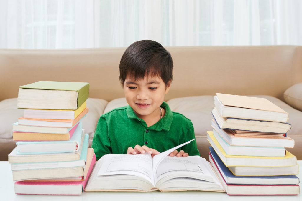 Vorlese-Bewegung in der Stadtbücherei
