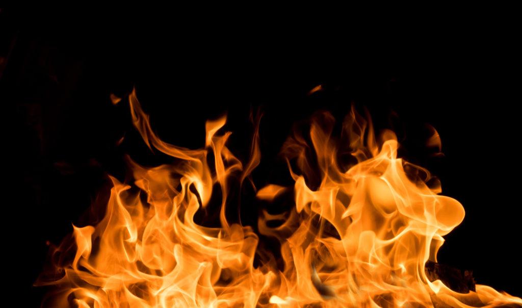 Brand an Ulmer Synagoge